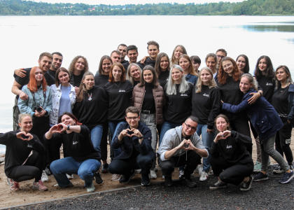 Активисты проекта «Школа Кураторов»  СПбГПМУ  провели тренинг на природе