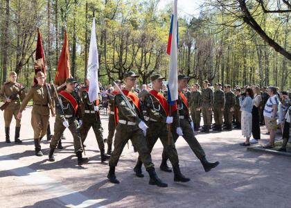 Торжественный митинг в честь Дня Победы