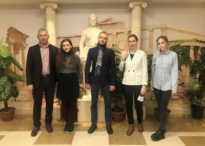 Студенты СПбГМТУ на Всероссийской студенческой юридической олимпиаде