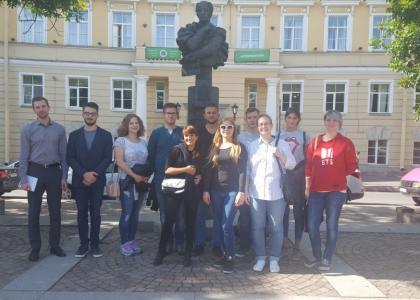 ПГУПС посетили немецкие студенты