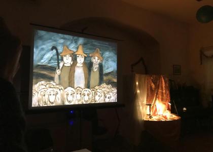 11 января в храме святых апостолов Петра и Павла при РГПУ им. А.И. Герцена прошел Святочный вечер