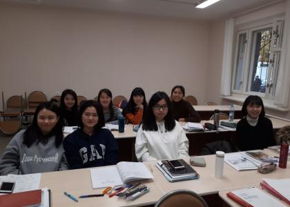 В Центре русского языка ПГУПС начался учебный год