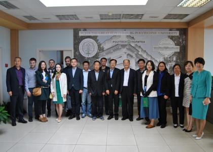 Политех обсудил перспективы совместных проектов с руководителями компаний провинции Цзянсу (КНР)