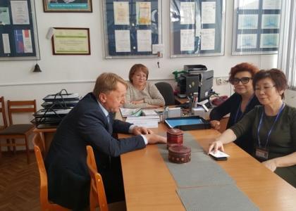 Ученые Военмеха обсудили сотрудничество с Международной образовательной корпорацией
