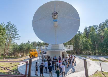 Земля в иллюминаторе: студенты Международной политехнической летней школы изучают космос