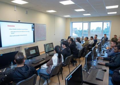 Проект InMotion: открытая международная студенческая летняя школа «Компьютерное моделирование для инженеров – 2018»